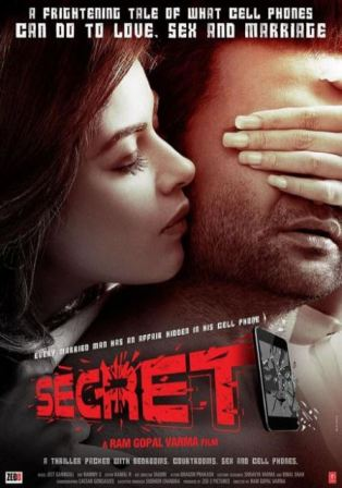RGV's Secret is Psychological Romantic Thriller: Movie Poster