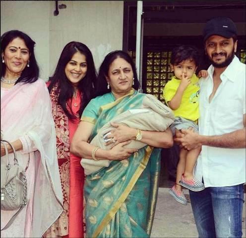 Rahyl Deshmukh It S Name Of Riteish Genelia S New Born Son
