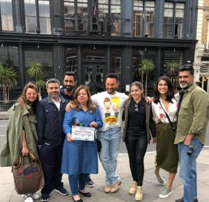 jawani jaaneman shoot london