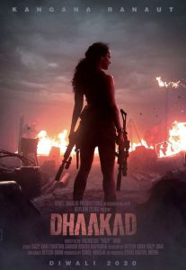Dhaakad First Look Poster: Kangana Ranaut's Fighter Avatar will remind you Hollywood films