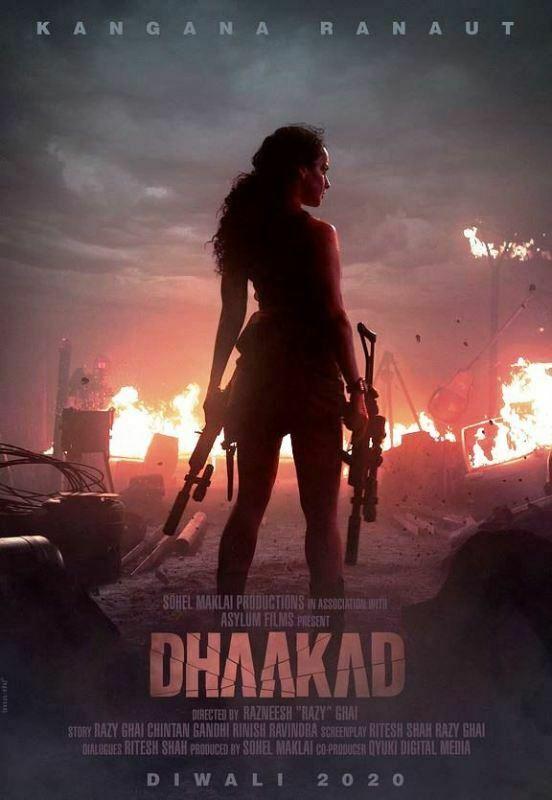 kangana-ranaut-dhaakad-first-look-poster