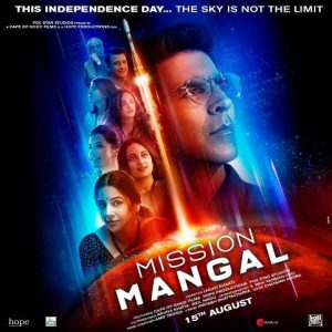 Mission Mangal First Look Poster ft. Akshay Kumar and Team on Mars Mission