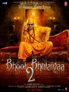 Bhool Bhulaiyaa 2 First Look Posters: Kartik Aryan in a Ghostbuster Avatar