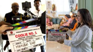 Coolie No. 1 Shoot Started today in Bangkok starring Varun Dhawan, Sara Ali Khan