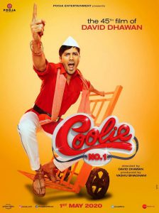 Coolie No 1 First Look and Motion Posters out ft. Varun Dhawan, Sara Ali Khan
