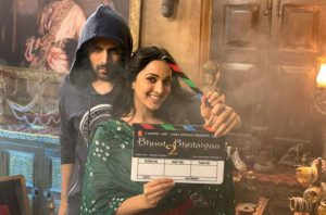 Bhool Bhulaiya 2 Shooting started with Kartik Aryan, Kiara Advani