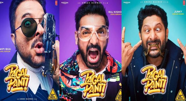 pagalpanti-first-look-posters