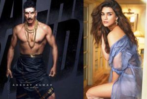 Kriti Sanon Paired up with Akshay Kumar in Bachchan Pandey Movie