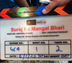 Suraj Pe Mangal Bhari Shooting Started with Diljit Dosanjh, Manoj Bajpayee