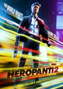 Heropanti 2 First Look Poster: Tiger Shroff's Action Hero Avatar like James Bond
