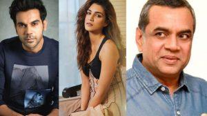 Rajkummar Rao, Kriti Sanon, Paresh Rawal in Abhishek Jain's Comedy film