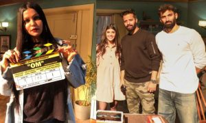 OM: The Battle Within shooting started with Aditya Roy Kapur and Sanjana Sanghi