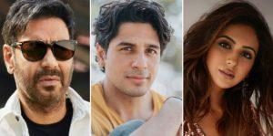 Ajay Devgn, Sidharth Malhotra, Rakul Preet Singh in Indra Kumar's 'Thank God' film