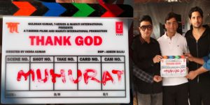 'Thank God' Movie Shooting Started in Mumbai with Mahurat Shot on Day 1